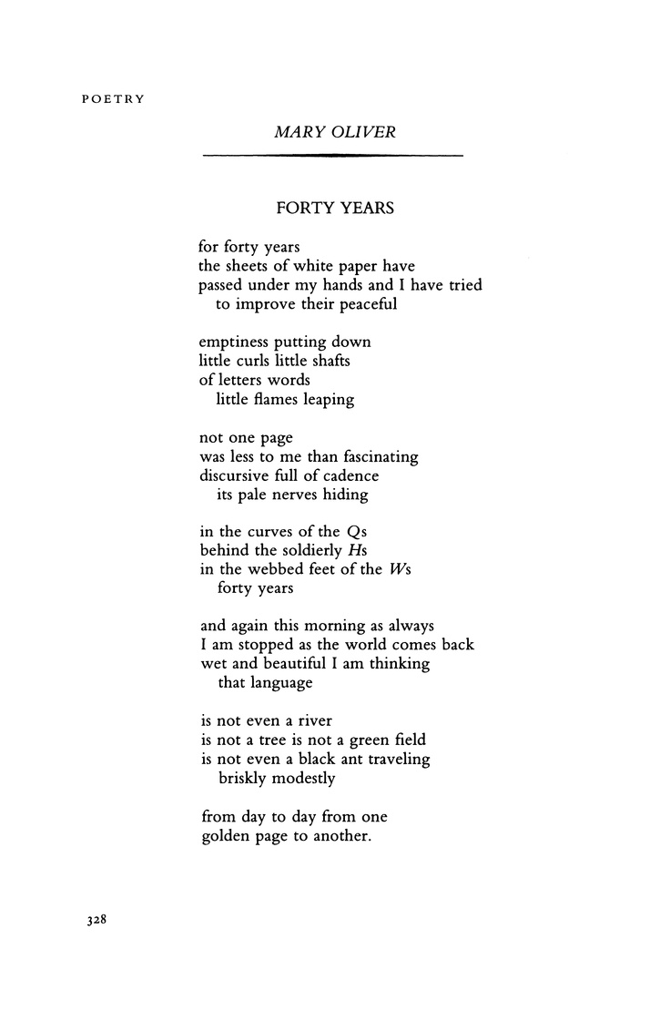 mary oliver birthday poem ; 83bf4aac964630a2a44355bf3819ab33--poetry-magazine-poetry-foundation