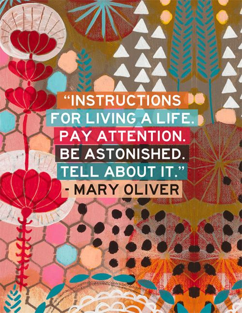 mary oliver birthday poem ; Mary-Oliver-Poems