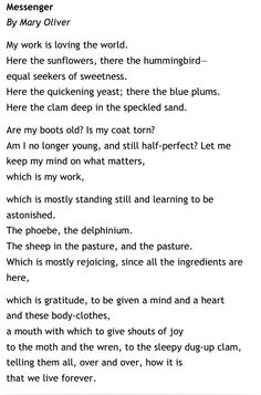 mary oliver birthday poem ; ec9742b71996d8ec6e1063e354c8dace