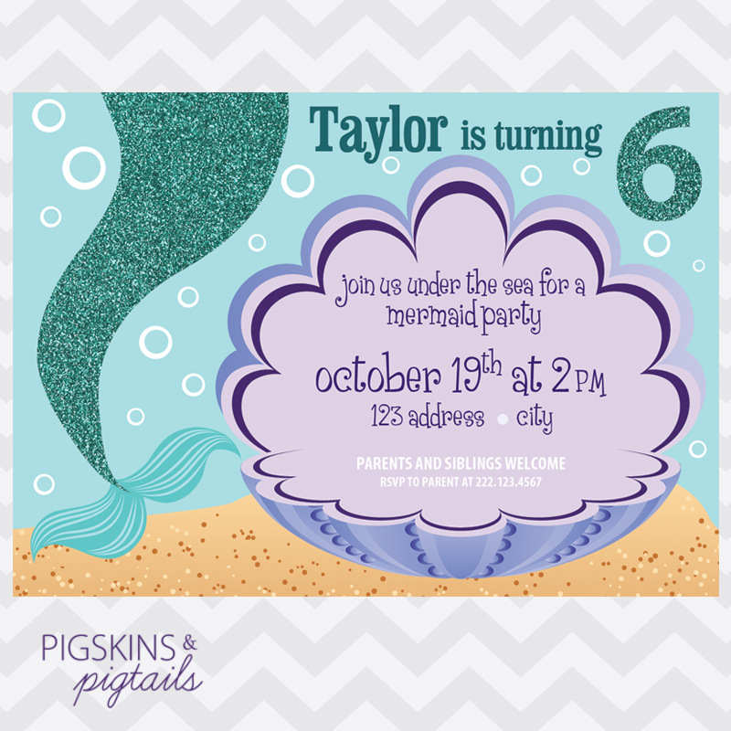 mermaid birthday invitations with picture ; Remarkable-Mermaid-Birthday-Invitations-To-Create-Your-Own-Birthday-Invitation-Templates