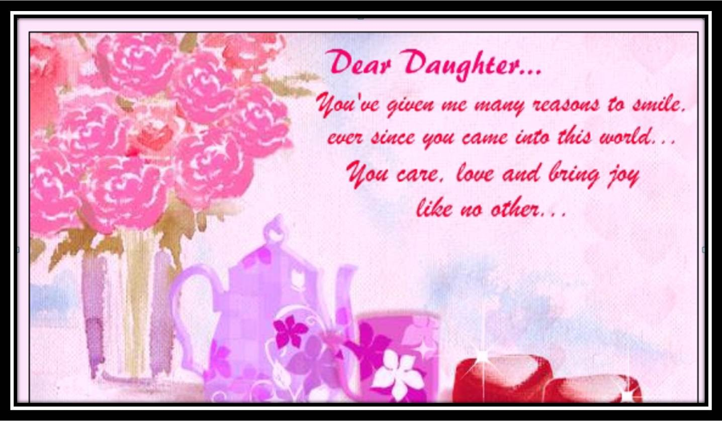 message for daughter birthday card ; maxresdefault