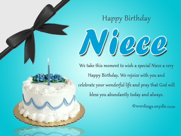 message for niece on her birthday ; birthday-greeting-messages-for-niece