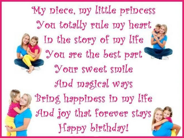 message for niece on her birthday ; magical-Birthday-Niece-Wishes-640x480
