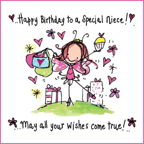 message for niece on her birthday ; special-birthday-wishes-for-niece