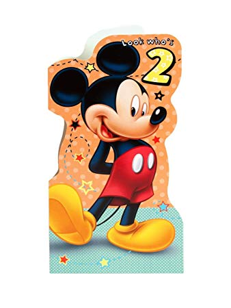 mickey mouse 2nd birthday card ; 71282%252B-IvgL