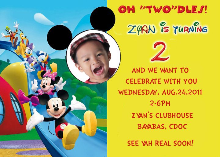 mickey mouse 2nd birthday card ; Mickey-2nd-Birthday-Invitation-Wording-For-Kids
