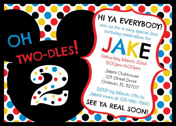mickey mouse 2nd birthday card ; mickey-mouse-2nd-birthday-invitations-is-to-sum-up-your-outstanding-ideas-of-do-it-yourself-magnificent-Birthday-invitations-3