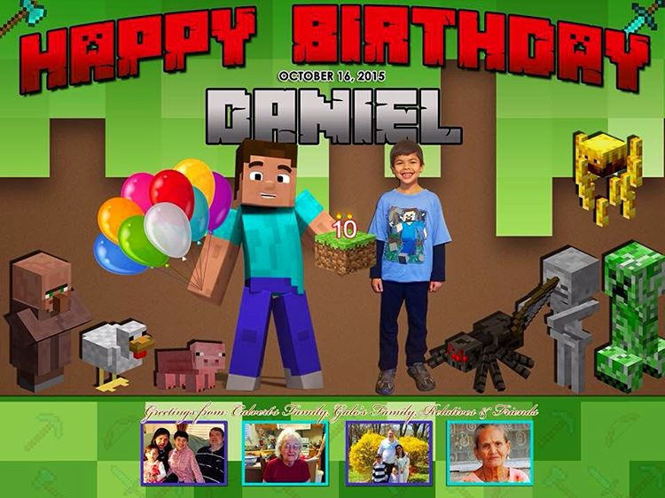 minecraft birthday background ; 21630804533_809ac70941_b