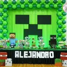 minecraft birthday background ; 2ac508c2928fe412880eca0acc03de82