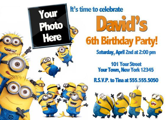 minions 1st birthday invitation templates ; Minion-birthday-party-invitations-to-get-ideas-how-to-make-your-own-party-invitation-design-1