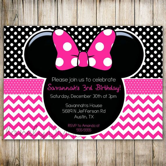 minnie mouse 2nd birthday party invitation wording ; Inspiring-Minnie-Mouse-2Nd-Birthday-Invitations-To-Design-Free-Birthday-Invitations