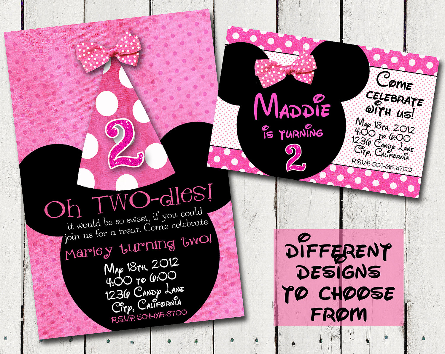 minnie mouse 2nd birthday party invitation wording ; Mesmerizing-Minnie-Mouse-Birthday-Invitations-To-Create-Your-Own-Birthday-Invitation-Cards