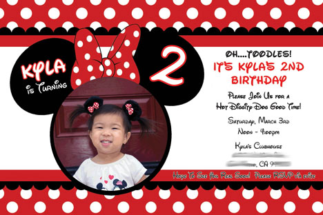minnie mouse 2nd birthday party invitation wording ; minnie+mouse+party+invite