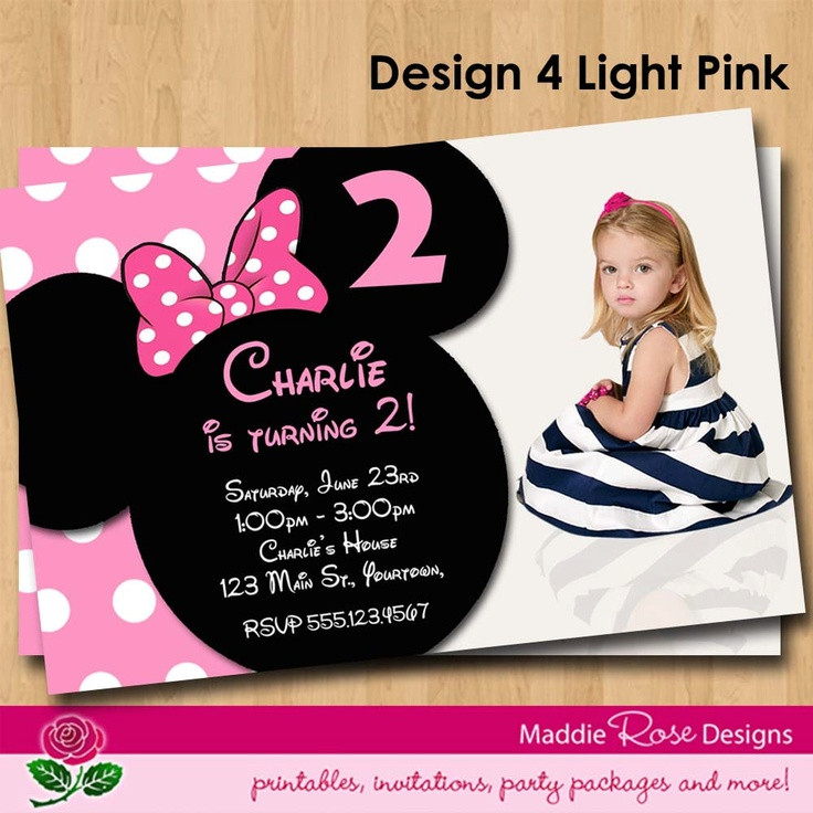 minnie mouse 2nd birthday party invitation wording ; minnie-mouse-2nd-birthday-invitations-fresh-117-best-invitation-wording-images-on-pinterest-of-minnie-mouse-2nd-birthday-invitations