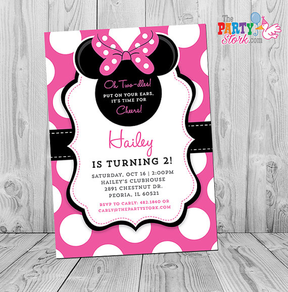 minnie mouse 2nd birthday party invitation wording ; minnie_mouse_2nd_birthday_party_invitation_wording