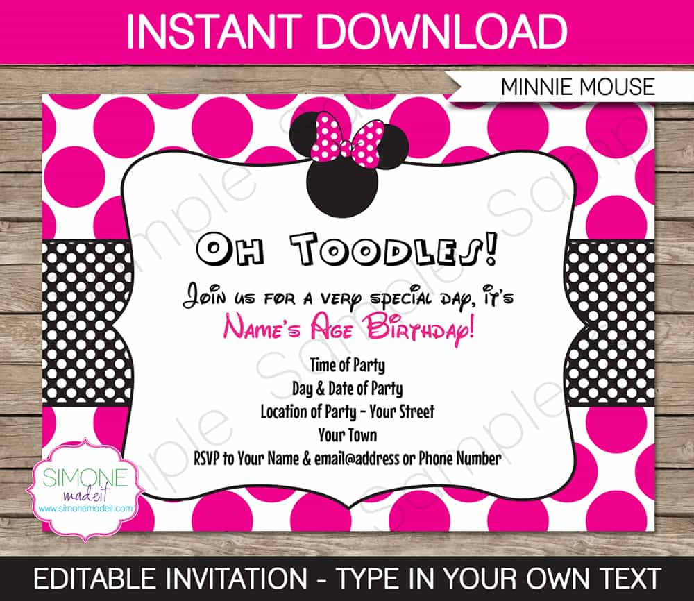 minnie mouse birthday invitation ideas ; tips-minnie-mouse-party-invitations-ideas-with-winsome-layout-for-egreeting-ecards-com