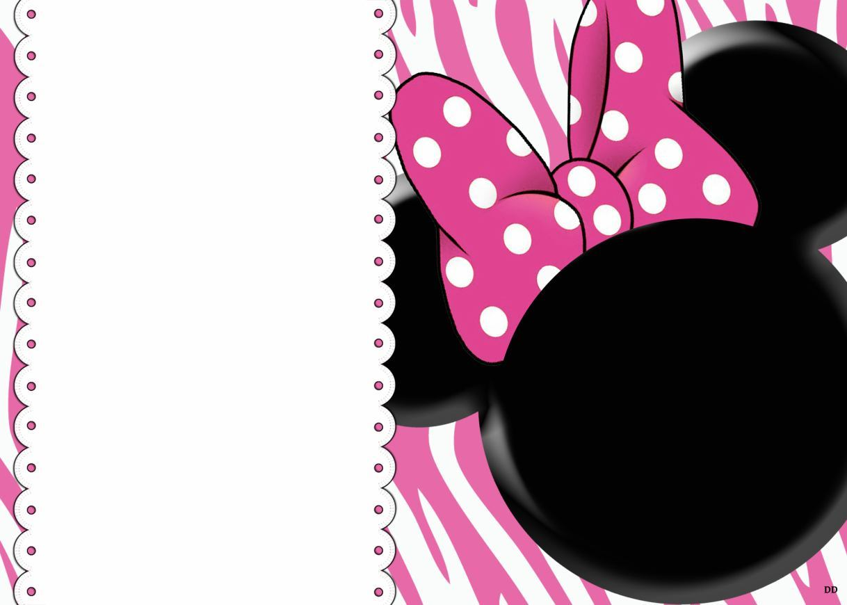 minnie mouse birthday invitation layout ; minnie-mouse-birthday-invitation-templates-free-by-way-of-using-an-impressive-design-concept-for-your-foxy-Birthday-Invitation-Templates-20