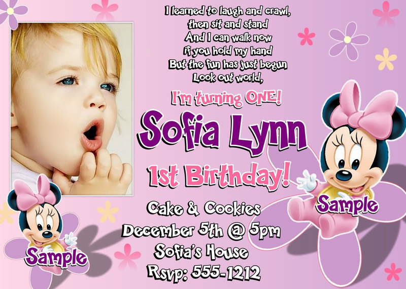 minnie mouse wording for birthday invitation ; b5421b5157a1259672ea8f29bf29ed93