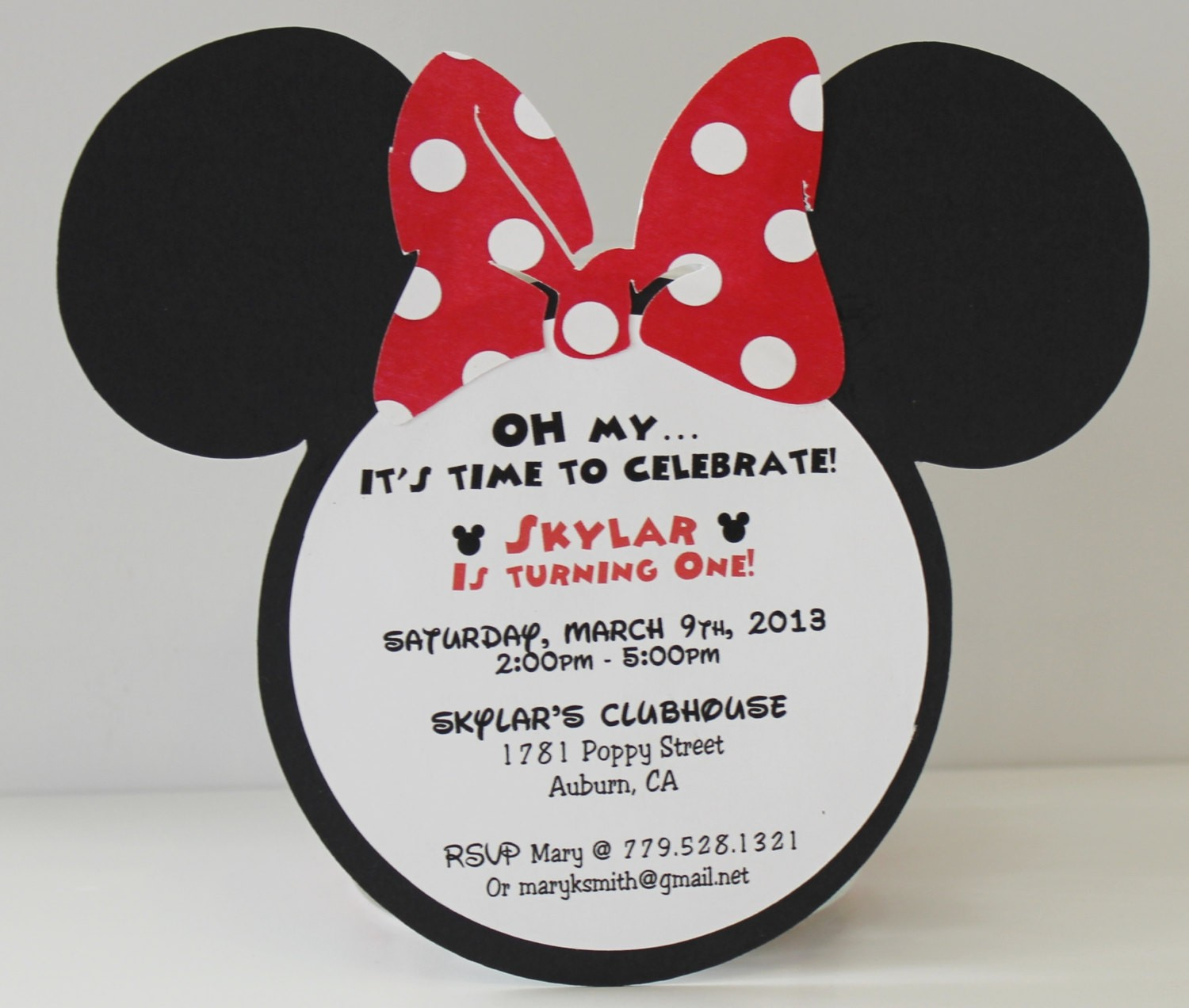 minnie mouse wording for birthday invitation ; ba6c3cee38701a258041b6351ed02f2d