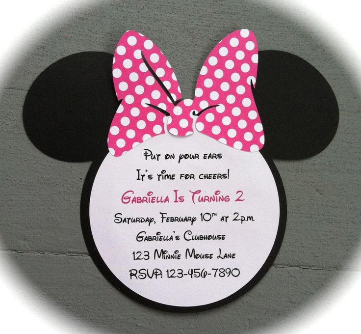 minnie mouse wording for birthday invitation ; badc4aa9255449c6f5568d1da980f3b2--custom-birthday-invitations-minnie-mouse-birthday-invitations