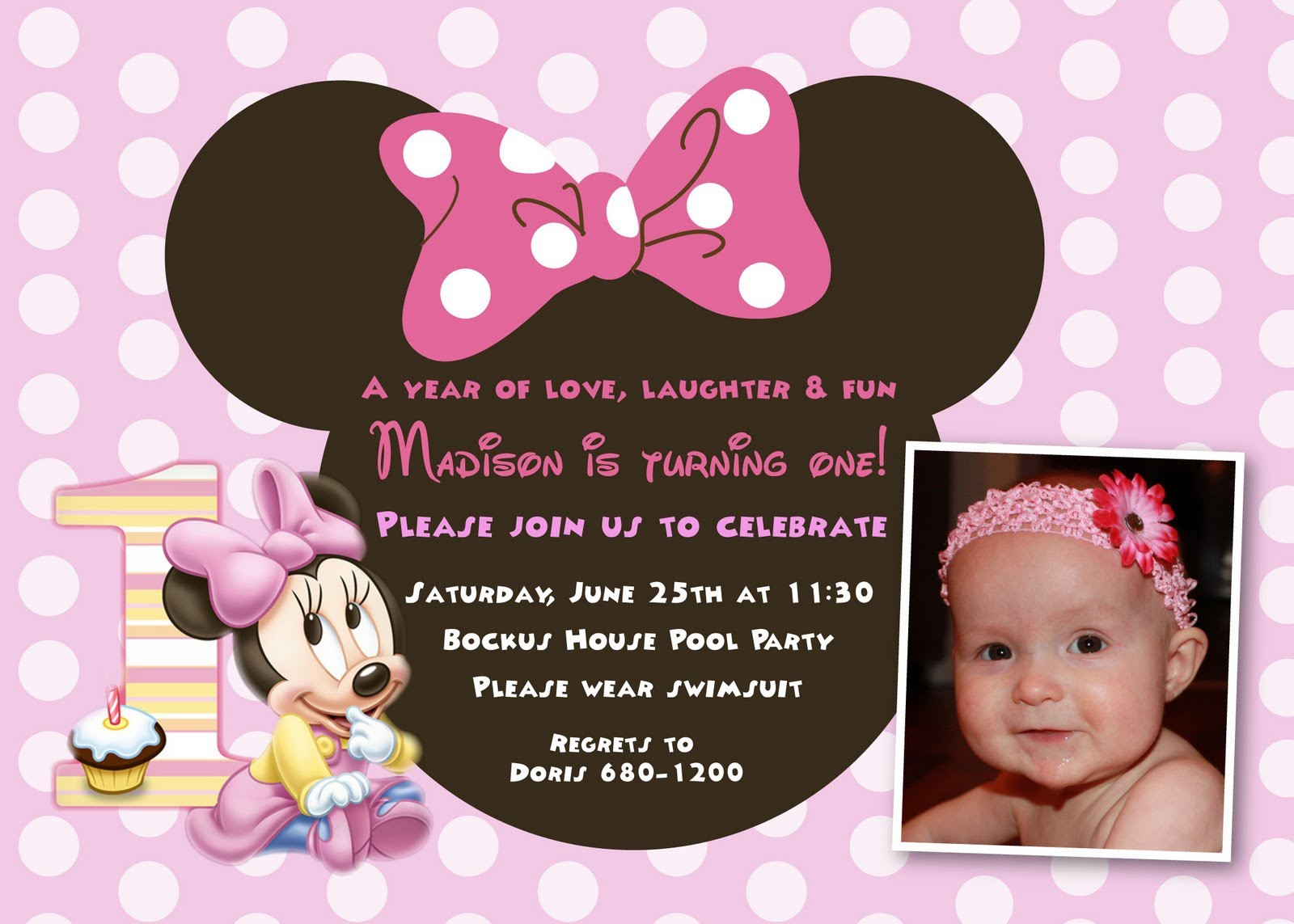 minnie mouse wording for birthday invitation ; minnie-mouse-birthday-card-sayings-elegant-cool-minnie-mouse-first-birthday-invitations-designs-of-minnie-mouse-birthday-card-sayings