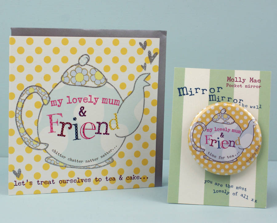 mirror birthday card ; original_mother-s-mum-s-day-card-with-compact-mirror-gift-set