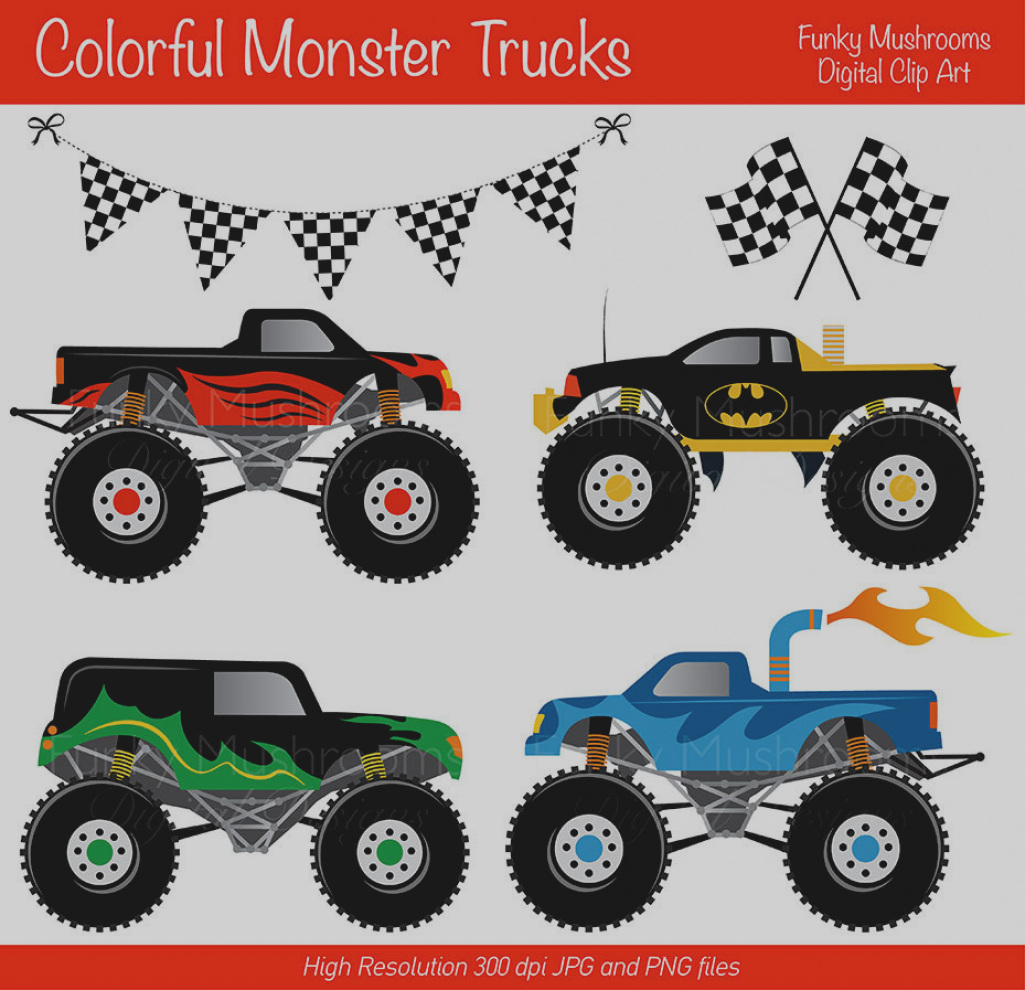 monster truck birthday invitations free printable ; inspirational-monster-truck-birthday-invitations-free-printable-party