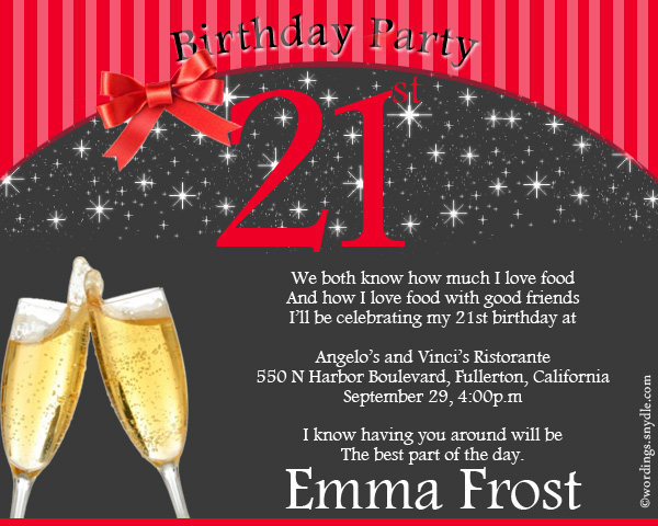 my birthday invitation to friends ; 21st-birthday-party-invitation-greeting-cards