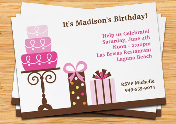 My Birthday Invitation To Friends Il 570xN