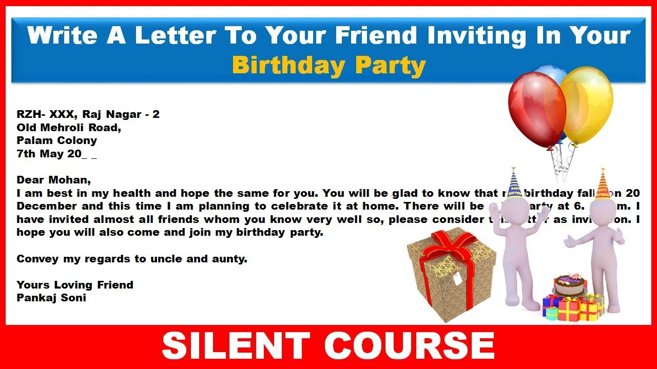 my birthday invitation to friends ; maxresdefault_2