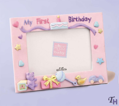 my first birthday picture frame ; 49463