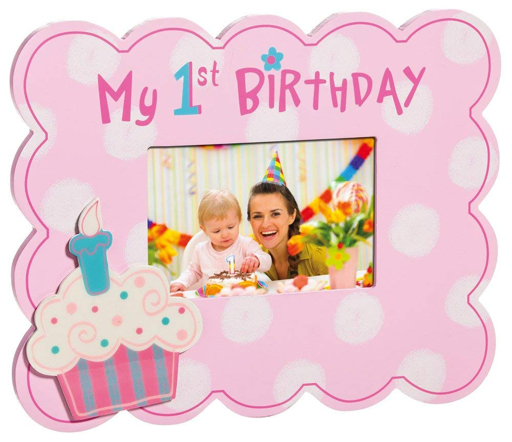my first birthday picture frame ; 61cwMi9rSPL