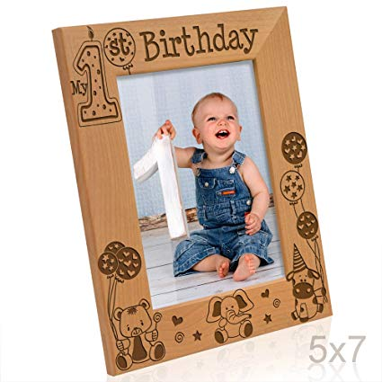 my first birthday picture frame ; 71q9puPqWTL