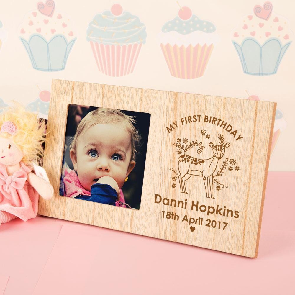 my first birthday picture frame ; D814673001CE01A3824B9D24BEAE8E19_1