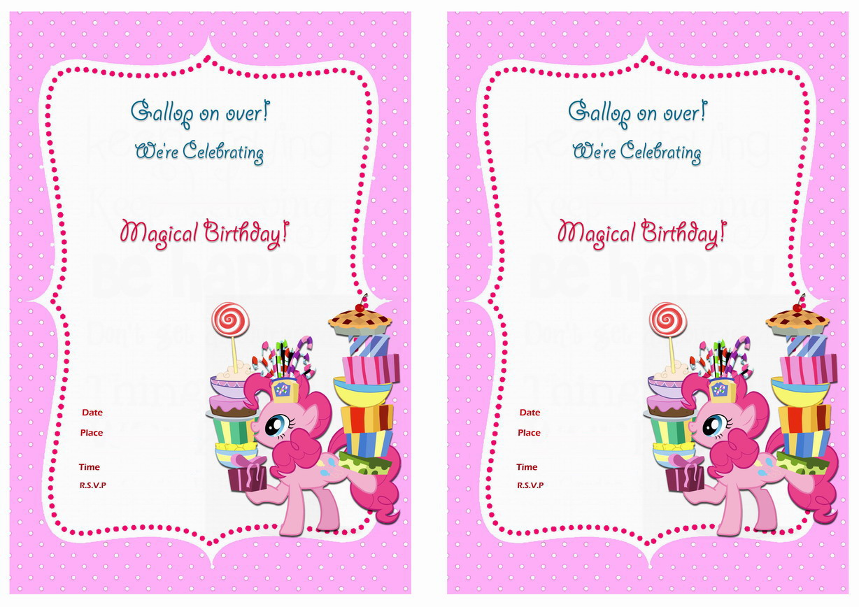 my little pony birthday invitation template free ; my-little-pony-birthday-invitations-for-the-invitations-design-of-your-inspiration-Baby-Shower-Invitation-Templates-party-9