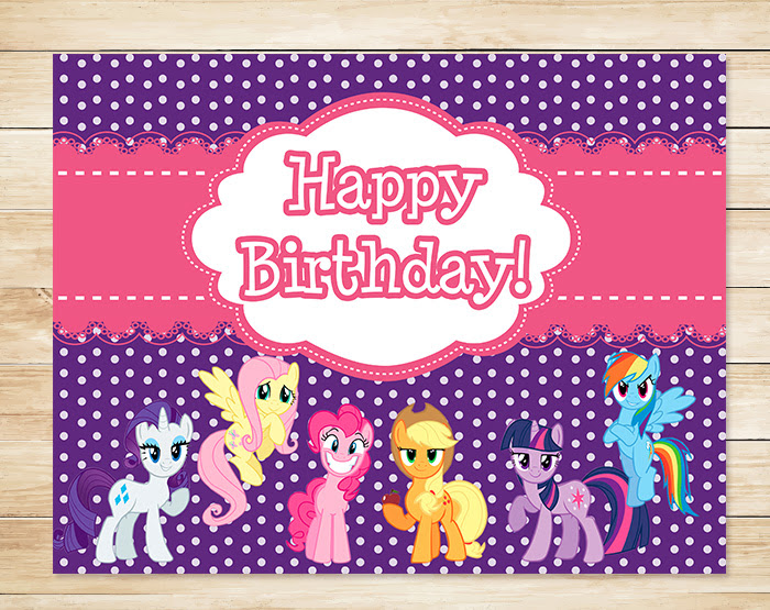 my little pony birthday sign ; PP172055-MLP-Birthday-Sign-1