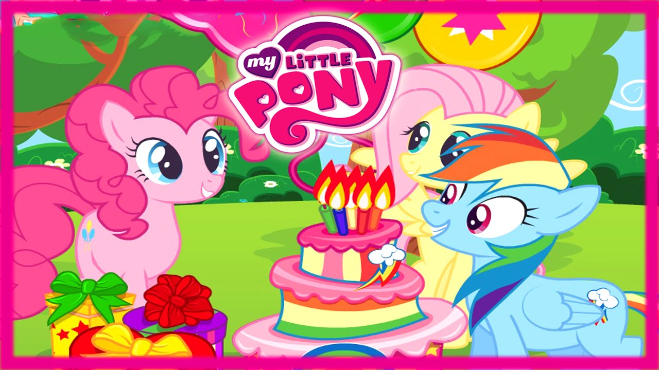 my little pony birthday sign ; maxresdefault