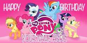 my little pony birthday sign ; s-l300