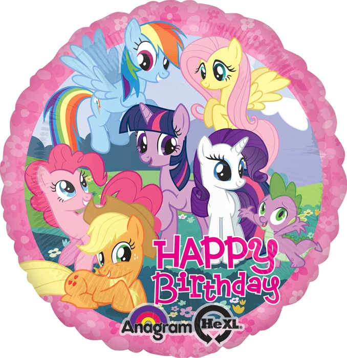 my little pony happy birthday ; 270808-2
