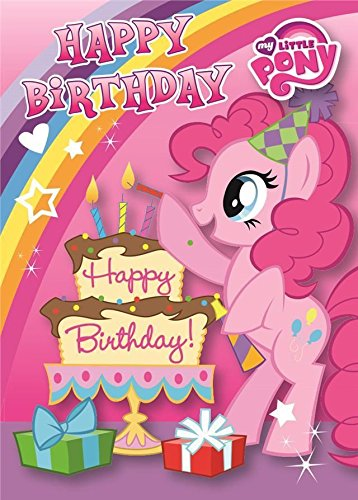 my little pony happy birthday ; 51qSpAzFOLL