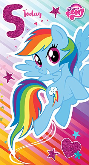 my little pony happy birthday ; 813XTxDsXgL