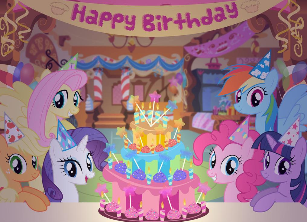 my little pony happy birthday ; aa0