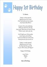 my son first birthday poem ; m9HJjg7Y7FhdPTlQVAJLbgw