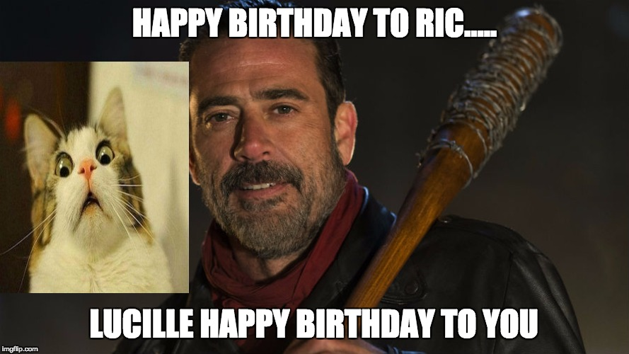 negan happy birthday ; 1xnpz3