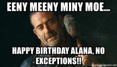 negan happy birthday ; 76475370