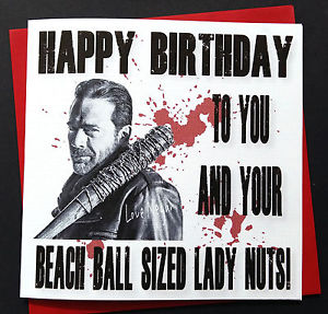 negan happy birthday ; s-l300