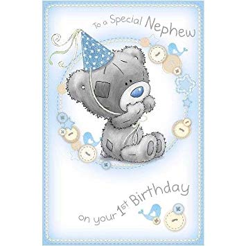 nephew 1st birthday card ; 51730tLlSCL