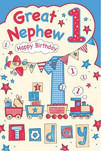 nephew 1st birthday card ; 51Oo8d6l3XL