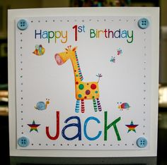 nephew 1st birthday card ; d95f597c79dac49117456a5e82375d93--st-birthday-cards-th-birthday
