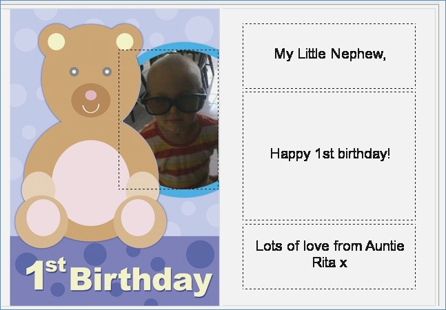 nephew 1st birthday card ; personalised-card-for-my-nephew-s-1st-birthday-of-1st-birthday-card-nephew